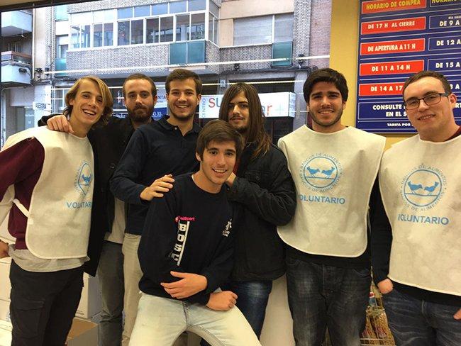 Colaboramos con el banco de alimentos de Valladolid