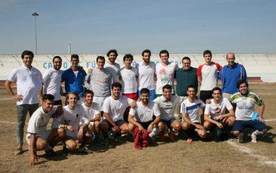 Partido de fútbol en la cárcel de Dueñas