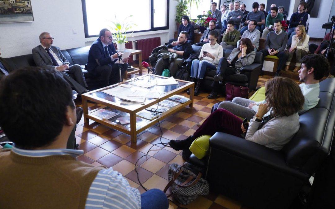 Dossier de prensa de la XXVI Jornada de Periodismo