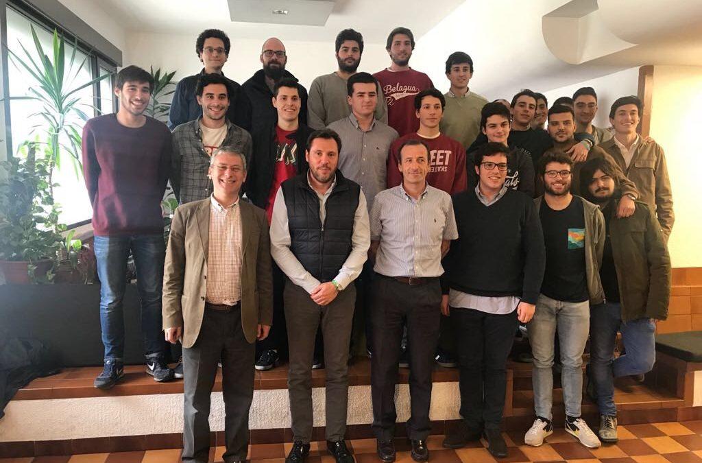 Visita de Óscar Puente, Alcalde de Valladolid