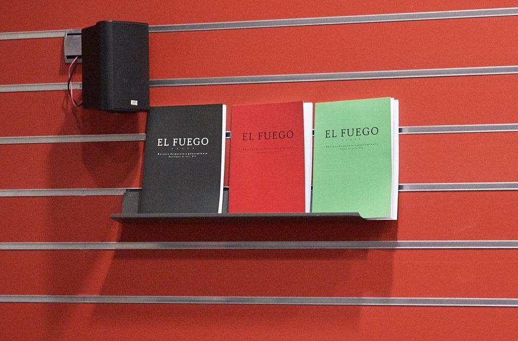 Evento: presentación revista El Fuego